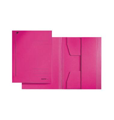 Jurismappe RC 3 Klappen f. A4 pink 242x318mm 300g
