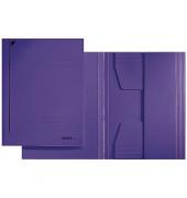 Jurismappe RC 3 Klappen f. A4 violett 242x318mm 300g