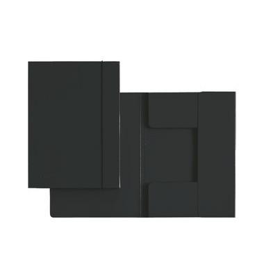 Gummizugmappe 3926 A4 schwarz