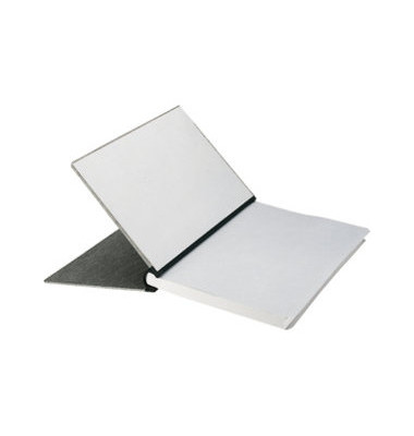 Klemmbinder 20mm Fassungsverm. grau A4 RC-Pappe für 200 Blatt