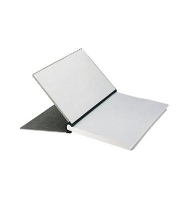 Klemmbinder 3944-00-85, A4, für ca. 200 Blatt, Karton, grau
