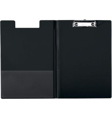 Klemmbrettmappe 3960-00-95 A4 schwarz 242x349mm Kunststoff mit Aufhängeöse