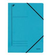 Eckspanner A4 blau 400g Recyclingkarton 23,2x31,8cm