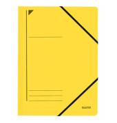 Eckspanner A4 gelb 400g Recyclingkarton 23,2x31,8cm