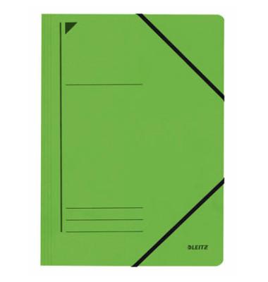 Eckspannmappe 3980 A4 400g grün