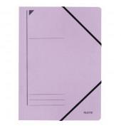 Eckspannmappe 3980 A4 400g violett