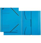 Eckspannmappe 3981 A4 300g blau