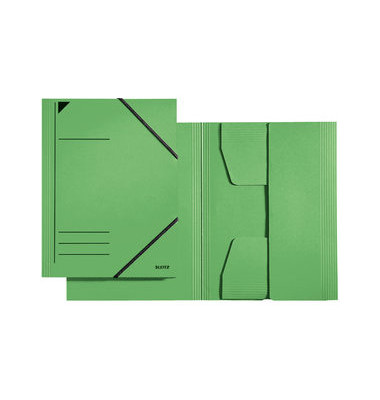 Eckspannmappe 3981 A4 300g grün