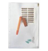 Gleitverschlussbeutel 4040 PVC mit Lochung A4 transparent