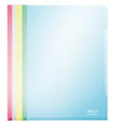 4153 farbig sortierte Super Premium Sichthüllen A4 klar 150 my