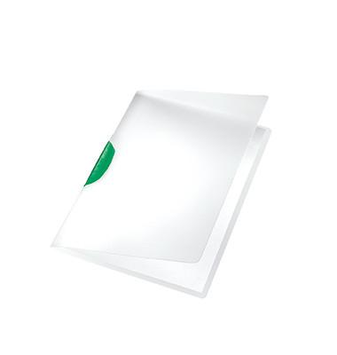 Klemmhefter ColorClip Magic 4175-00-55, A4, für ca. 30 Blatt, Kunststoff, transparent/grün
