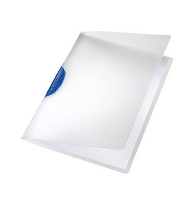 Klemmhefter ColorClip A4 PP blau 222x310mm bis 30 Blatt