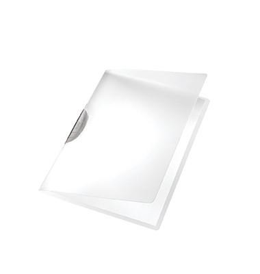 Klemmmappe ColorClip A4 PP grau 222x310mm bis 30Bl