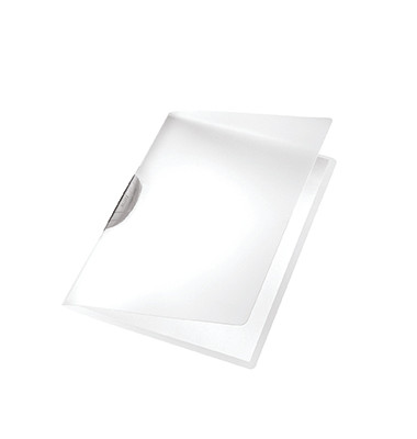 Klemmmappe ColorClip A4 PP grau 222x310mm bis 30 Blatt