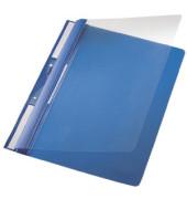 Schnellhefter Universal A4 PVC blau transparenter Vorderdeckel