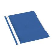 Schnellhefter Standard A4 blau transparenter Vorderdeckel