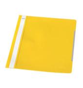 Schnellhefter Standard A4 gelb transparenter Vorderdeckel
