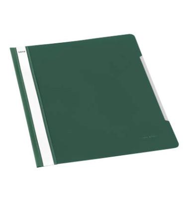 Schnellhefter Standard 4191 A4 grün PVC Kunststoff kaufmännische Heftung bis 250 Blatt