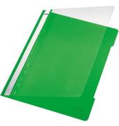 Schnellhefter Standard A4 hellgrün transparenter Vorderdeckel