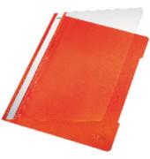 Schnellhefter Standard A4 orange transparenter Vorderdeckel