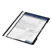 Schnellhefter Standard 4191 A4 schwarz PVC Kunststoff kaufmännische Heftung bis 250 Blatt