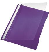 Schnellhefter Standard 4191 A4 violett PVC Kunststoff kaufmännische Heftung bis 250 Blatt