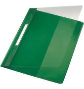 Schnellhefter Exquisit 4194 A4+ überbreit grün PVC Kunststoff kaufmännische Heftung bis 250 Blatt