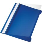 Schnellhefter Standard 4197 A5 blau PVC Kunststoff kaufmännische Heftung bis 250 Blatt