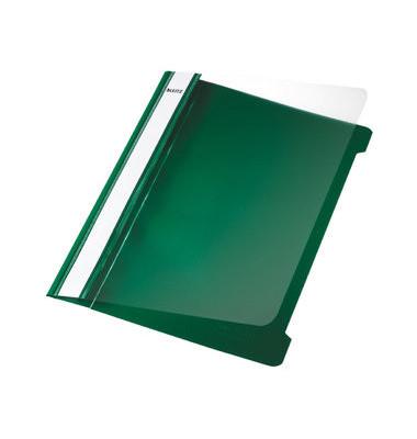 Schnellhefter Standard 4197 A5 grün PVC Kunststoff kaufmännische Heftung bis 250 Blatt