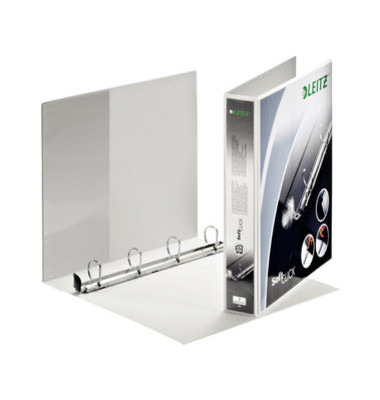 Präsentations-Ringbuch Premium SoftClick 4202-00-01 A4+ weiß 4-Ring Ø 30mm Kunststoff