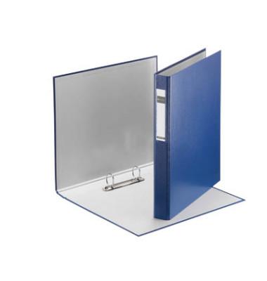 Ringbuch Standard 4210-00-35 A4 blau 2-Ring Ø 25mm Kunststoff