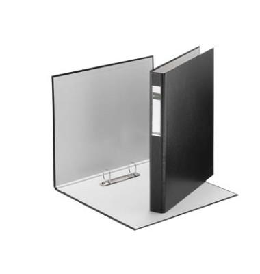 Ringbuch Standard 4210-00-95 A4 schwarz 2-Ring Ø 25mm Kunststoff