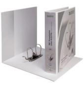 Präsentations-Ringbuch 180° A4+ 80mm weiß 318x299mm für 600 Blatt