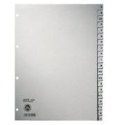 Kartonregister 4300 A-Z A4 100g graue Taben 20-teilig