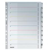 Kartonregister 4331 1-10 A4+ 160g weiße Taben 10-teilig