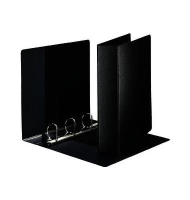 Ringbuch Softklick 4603 A4 überbreit schwarz 4-Ring Ø 40mm