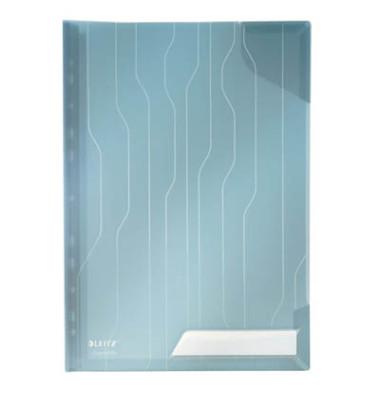 4728-35 CombiFile Hardback blau A4 Prospekhüllen genarbt 200my 3 Stück
