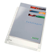 4756 Maxi Prospekthülle Standard A4 mit Falte genarbt 170my