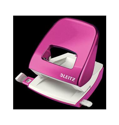 Locher 5008 Nexxt pink-metallic 3mm 30 Blatt mit Anschlagschiene