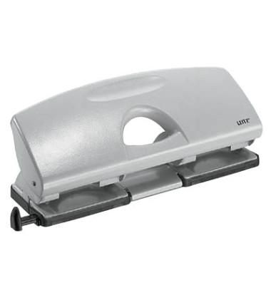 Doppellocher 5012-00-85 grau bis 2,5mm 25 Blatt mit Anschlagschiene