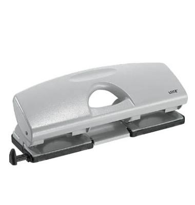 Doppellocher 5022-00-85 grau bis 1,6mm 16 Blatt mit Anschlagschiene