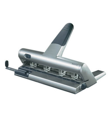 Doppellocher Akto 5114-00-84 silber bis 3mm 30 Blatt mit Anschlagschiene