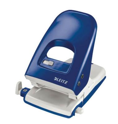 Locher 5138 blau 4mm 40 Blatt mit Anschlagschiene