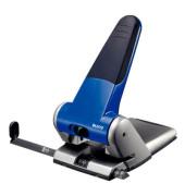 Registratur-Locher 5180 blau 6,3mm 63 Blatt mit Anschlagschiene