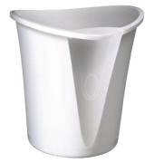 Papierkorb Allura 18 Liter weiß
