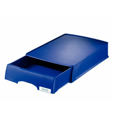 Briefablage 5210 Schublade Plus A4 / C4 blau stapelbar