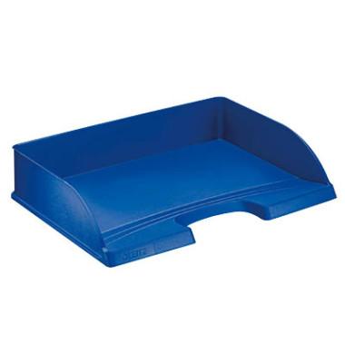 Briefablage 5218 Standard Plus A4 / C4 quer blau stapelbar