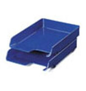 Briefablage Elegant 5220-00-35 A4 / C4 blau Kunststoff stapelbar