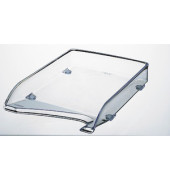 Briefablage 5220 elegant A4 / C4 glasklar stapelbar