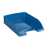 Briefablage 5226 WOW A4 / C4 blau/metallic stapelbar